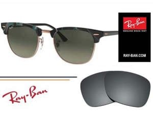 Cristales Ray-Ban®Clubmaster 3016